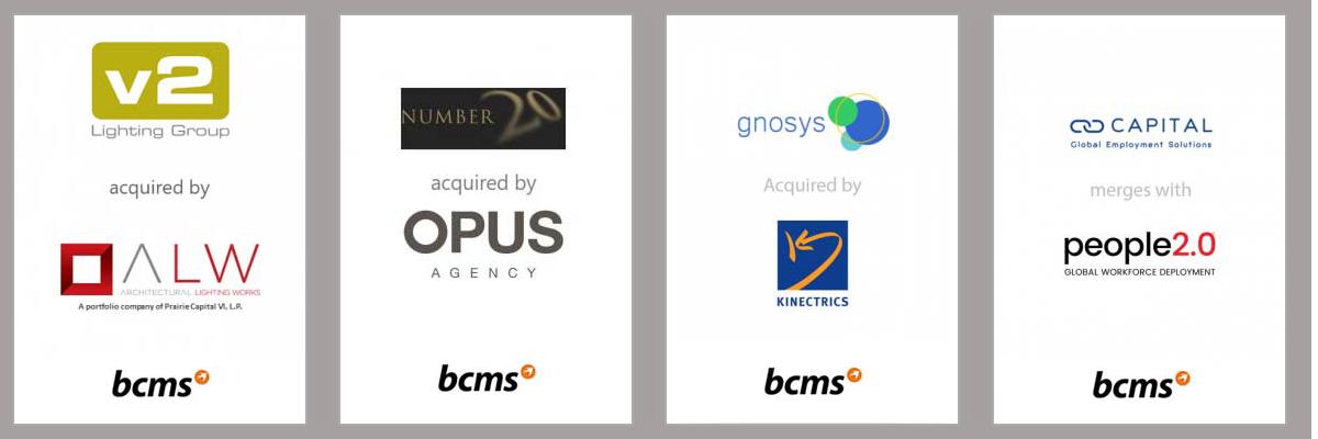 Mergers & Acquisitions - Deals