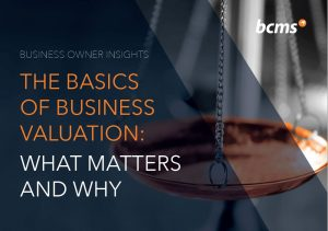 The Basics of Business Valuation