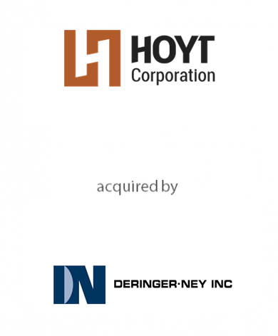 Hoyt Corporation acquired by Deringer-Ney Inc.